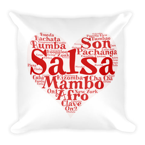 Heart of Salsa Pillow
