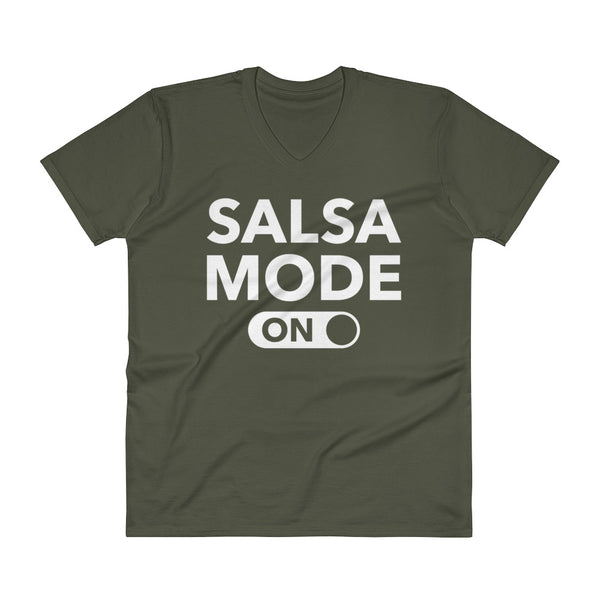 Salsa Mode On - Men's V-Neck T-Shirt