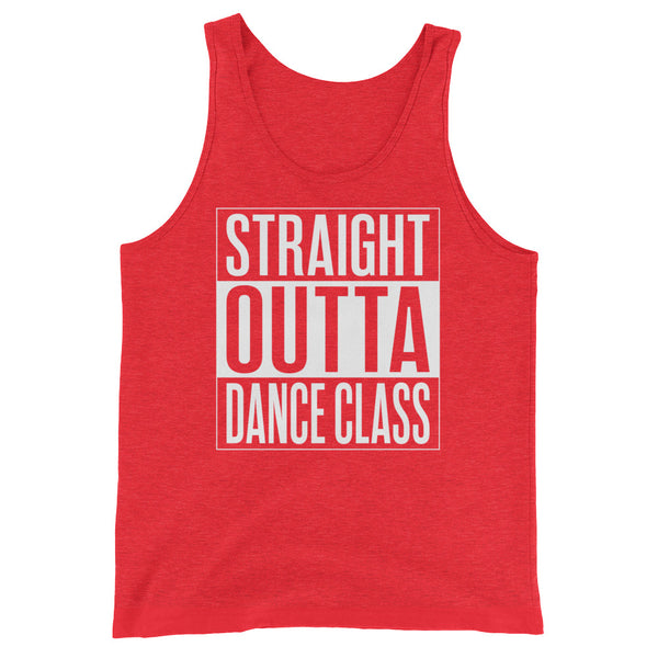 Straight Outta Dance Class - Men's Salsa Dancing Tank Top