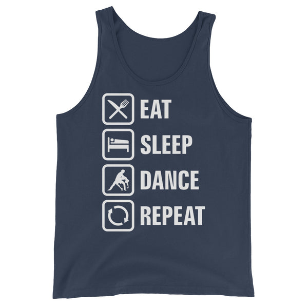 Eat Sleep Dance Repeat - Men's  Tank Top