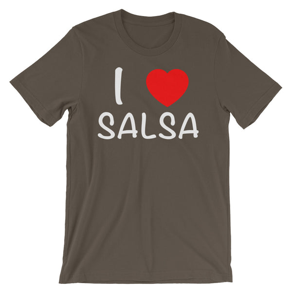I Heart Salsa - Women's Salsa Dancing T-Shirt