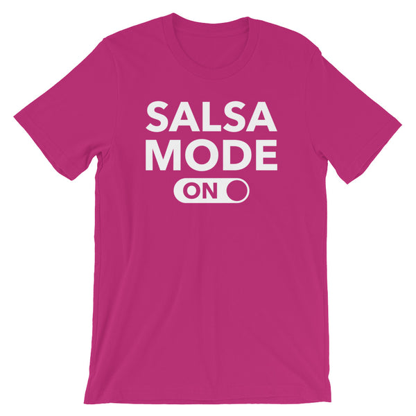 Salsa Mode On - Women's Salsa Dancing T-Shirt