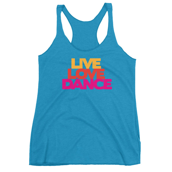 Live Love Dance - Women's Salsa Dancing Tank Top