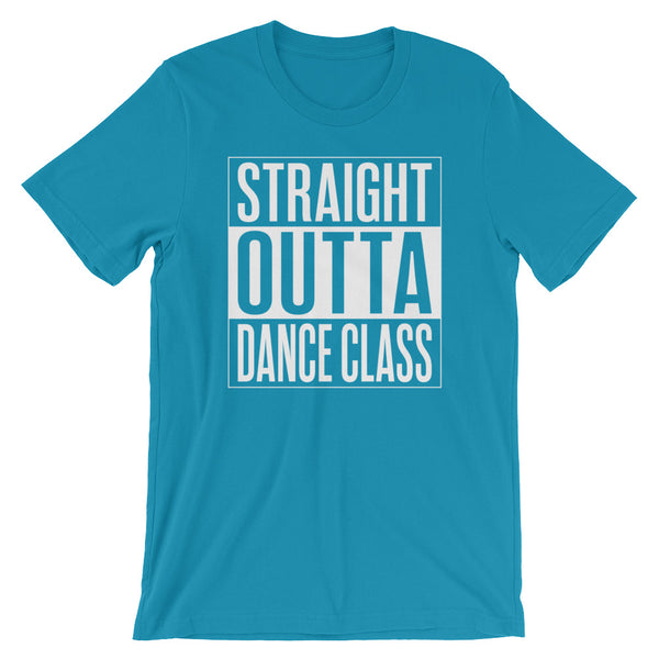 Straight Outta Dance Class - Women's Salsa Dancing T-Shirt