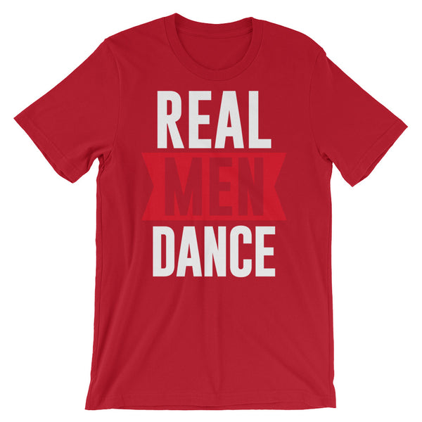 Real Men Dance - Men's Salsa Dance T-Shirt