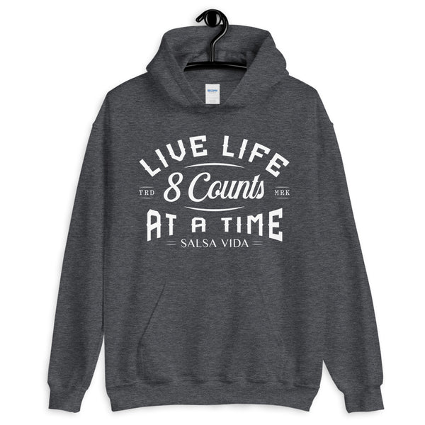 Live Life 8 Counts At A Time - Men's Hoodie
