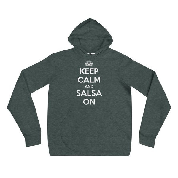 Keep Calm And Salsa On - Women's Hoodie