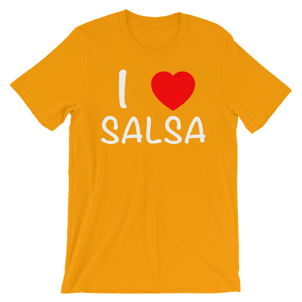 I Heart Salsa - Men's Salsa Dancing T-Shirt
