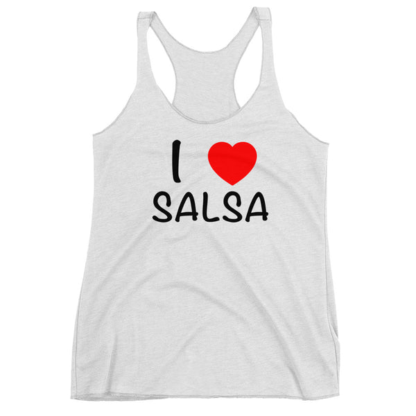 I Heart Salsa - Women's Salsa Dancing Tank Top