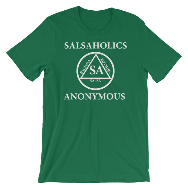 Salsaholics Anonymous - Men's Salsa Dancing T-Shirt