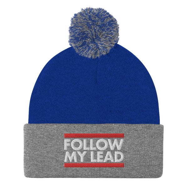 Following My Lead - Pom-Pom Beanie