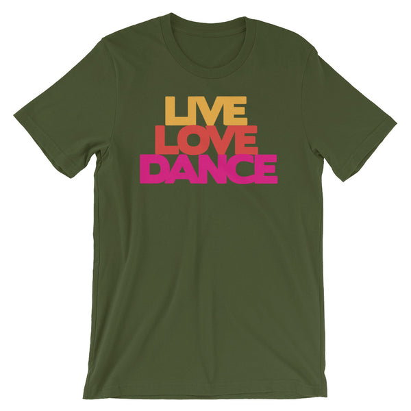 Live Love Dance - Women's Salsa Dancing T-Shirt