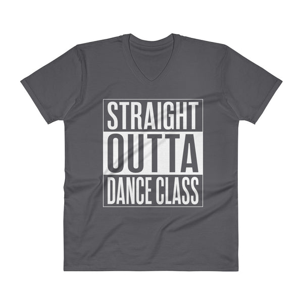 Straight Outta Dance Class - Men's V-Neck T-Shirt