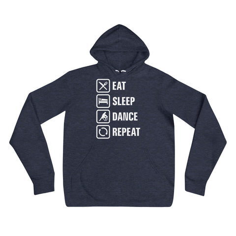 Eat Sleep Dance Repeat - Women's Hoodie