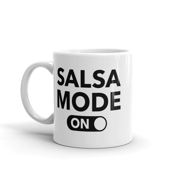 Salsa Mode On Mug