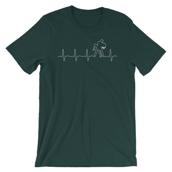 Salsa Heartbeat Pulse - Men's T-Shirt (Athletic Heather)