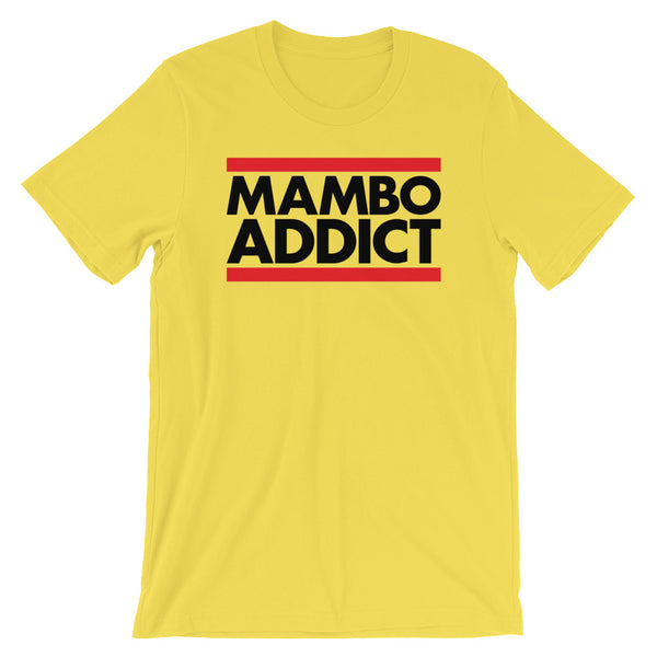 Mambo Addict - Men's Salsa Dancing T-Shirt