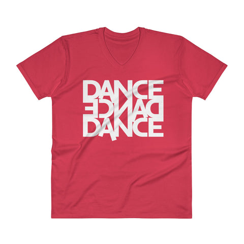 Dance Dance Dance - Men's V-Neck T-Shirt