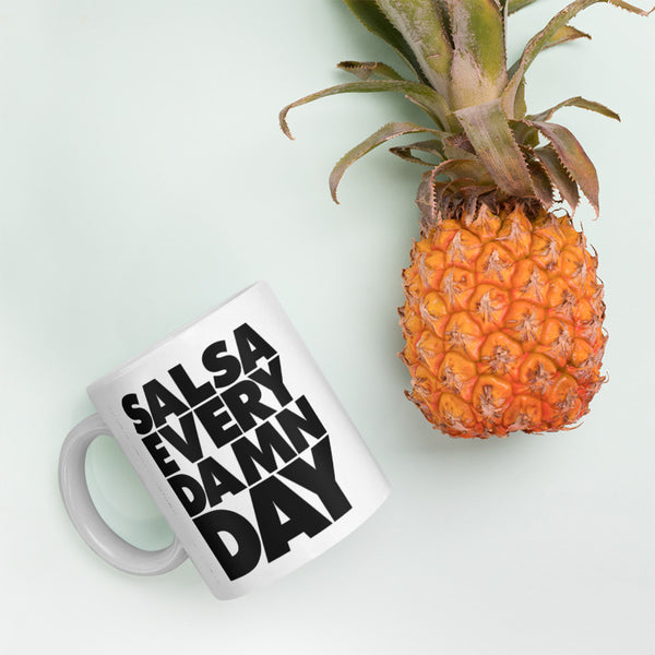 Salsa Every Damn Day Mug