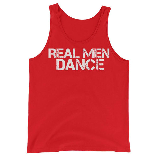 Real Men Dance - Men's Tank Top (Red)