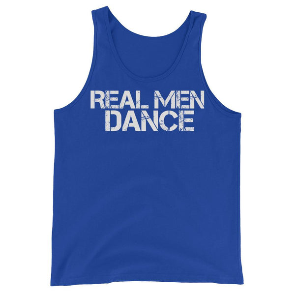 Real Men Dance - Men's Tank Top (True Royal)