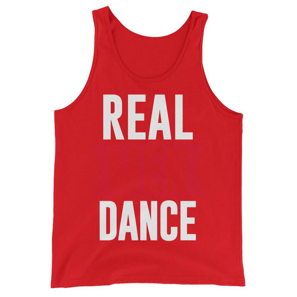 Real Men Dance (Tall) - Men's Tank Top (Red)