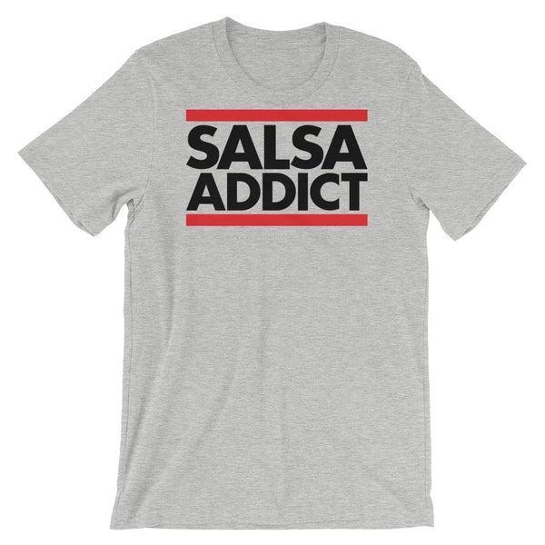 Salsa Addict - Women's T-Shirt (Athletic Heather)
