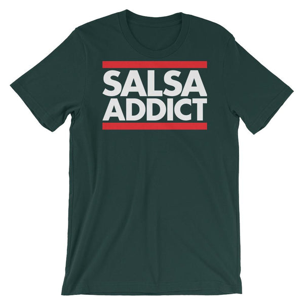 Salsa Addict - Women's T-Shirt (Forest)