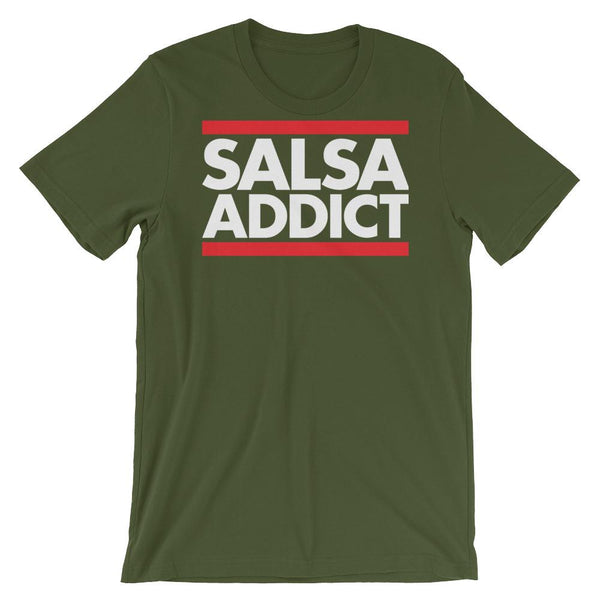 Salsa Addict - Women's T-Shirt (Olive)