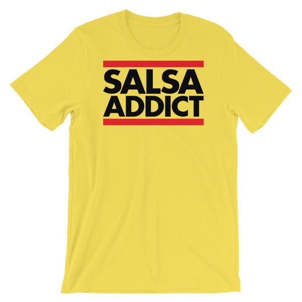 Salsa Addict - Women's T-Shirt (Yellow)