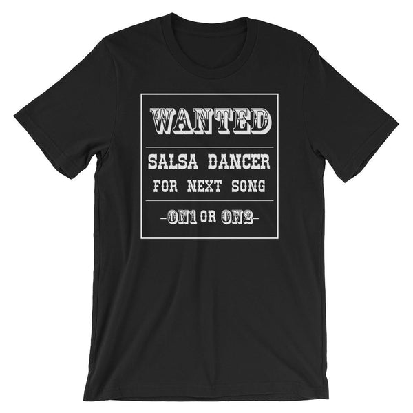 Salsa Dance Wanted - Women's T-Shirt (Black)