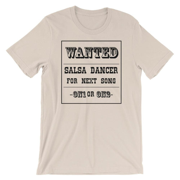 Salsa Dance Wanted - Women's T-Shirt (Soft Cream)