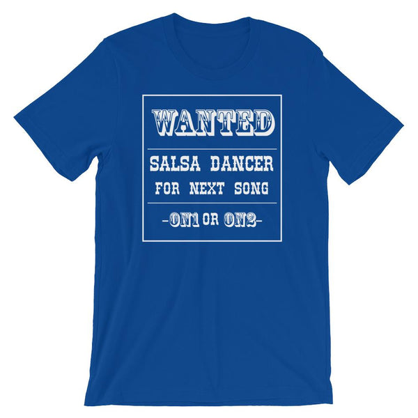 Salsa Dance Wanted - Women's T-Shirt (True Royal)