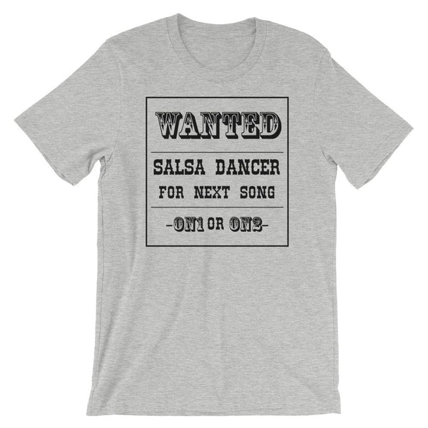 Salsa Dancer Wanted - Men's T-Shirt (Athletic Heather)