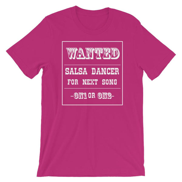 Salsa Dancer Wanted - Men's T-Shirt (Berry)