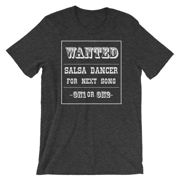 Salsa Dancer Wanted - Men's T-Shirt (Dark Grey Heather)