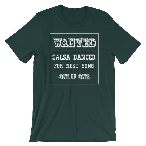 Salsa Dancer Wanted - Men's T-Shirt (Forest)