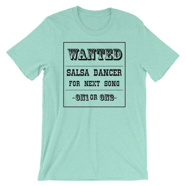 Salsa Dancer Wanted - Men's T-Shirt (Heather Mint)