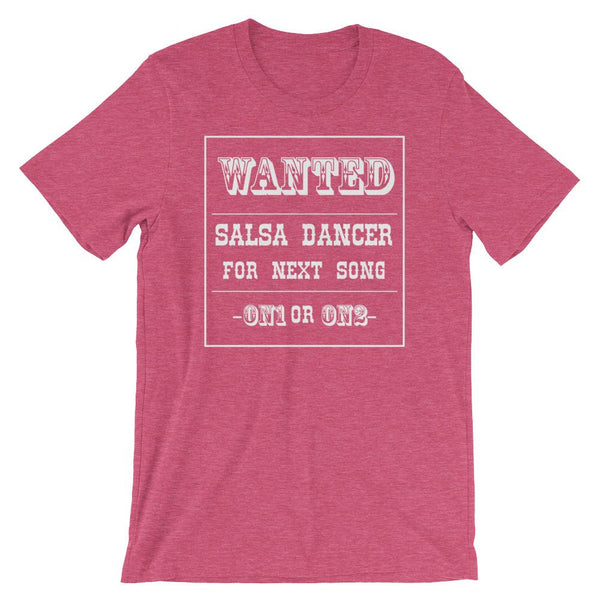 Salsa Dancer Wanted - Men's T-Shirt (Heather Raspberry)