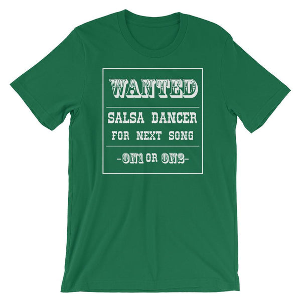 Salsa Dancer Wanted - Men's T-Shirt (Kelly)