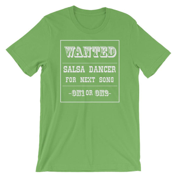 Salsa Dancer Wanted - Men's T-Shirt (Leaf)