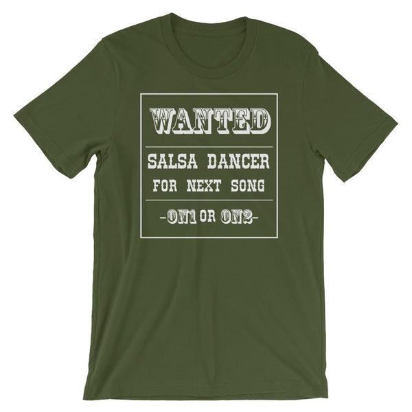 Salsa Dancer Wanted - Men's T-Shirt (Olive)