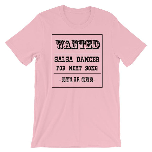 Salsa Dancer Wanted - Men's T-Shirt (Pink)
