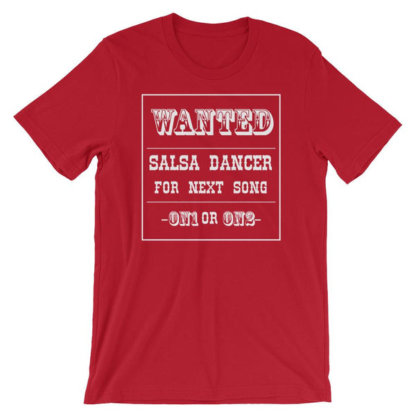 Salsa Dancer Wanted - Men's T-Shirt (Red)