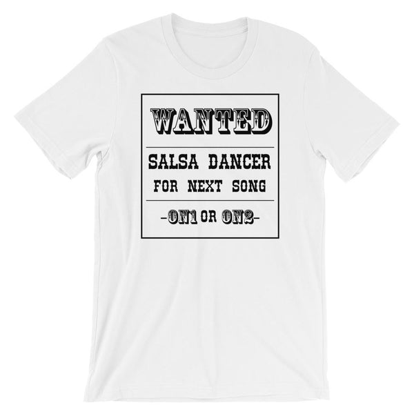 Salsa Dancer Wanted - Men's T-Shirt (White)
