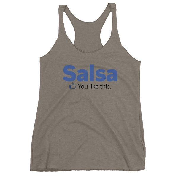 Salsa Like - Women's Tank Top (Venetian Grey)