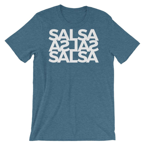Salsa Salsa Salsa - Men's T-Shirt (Heather Deep Teal)