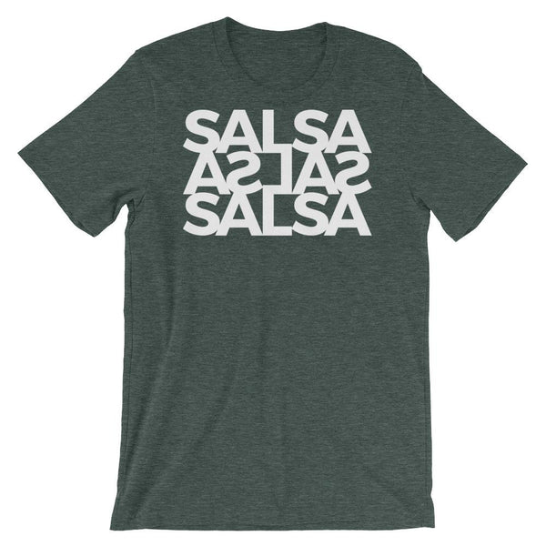 Salsa Salsa Salsa - Men's T-Shirt (Heather Forest)