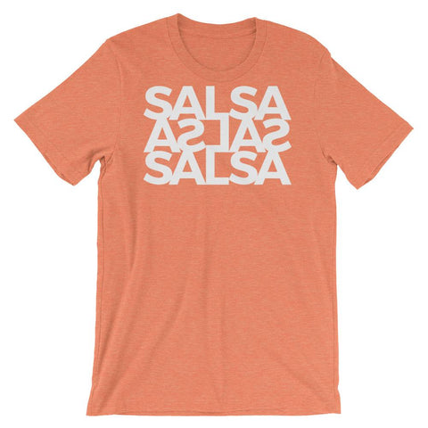Salsa Salsa Salsa - Men's T-Shirt (Heather Orange)