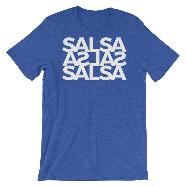 Salsa Salsa Salsa - Men's T-Shirt (Heather True Royal)